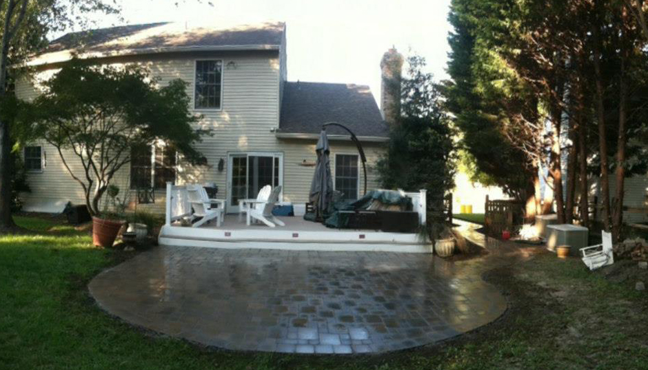 pavers 5 after