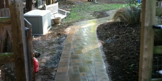 pavers 6 after