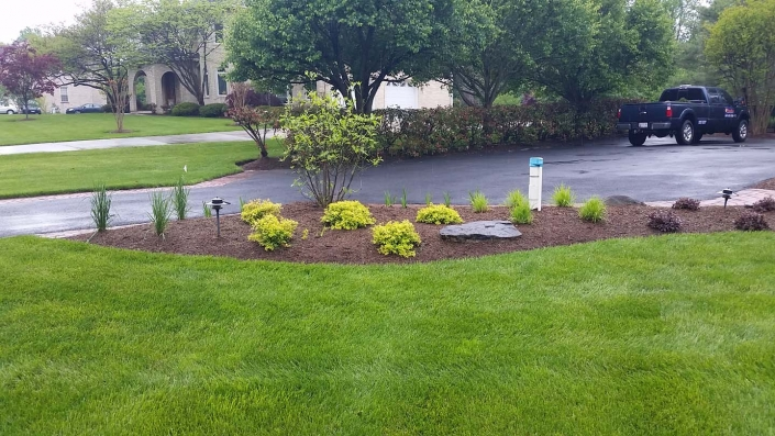 Landscape Design grass and mulching services