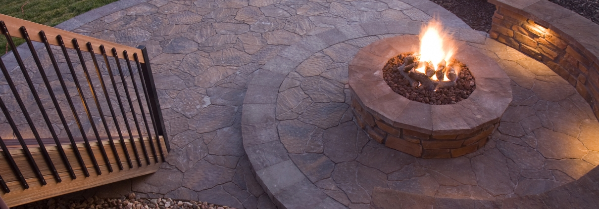 Annapolis Landscaping Outdoor Fire Pit Hardscape