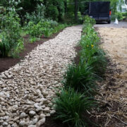 Rock Bed for Yard Drainage Solutions in Annapolis