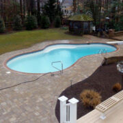 Pavers Patio Pool Deck in Annapolis