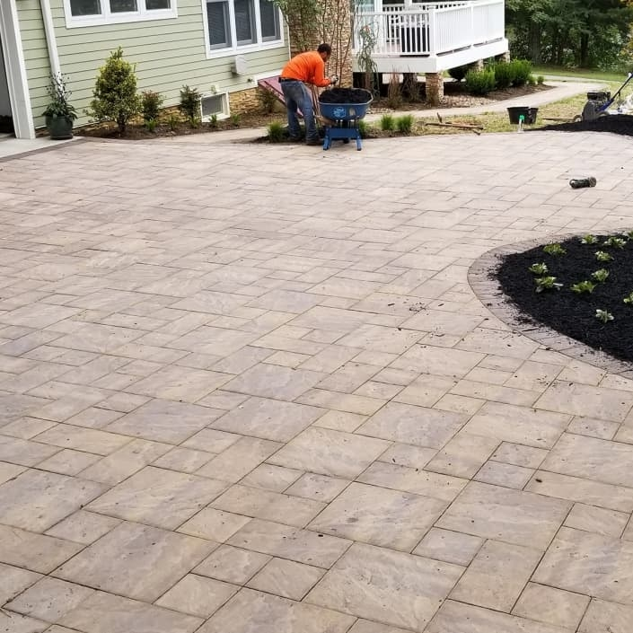 Pavers Patio in Annapolis Md